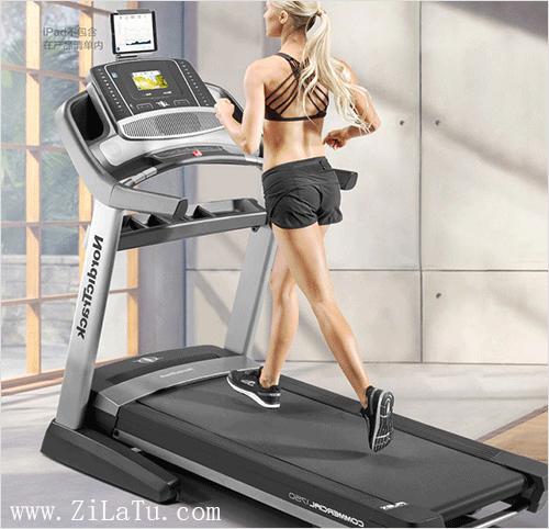 美国爱康家用智能跑步机减震折叠